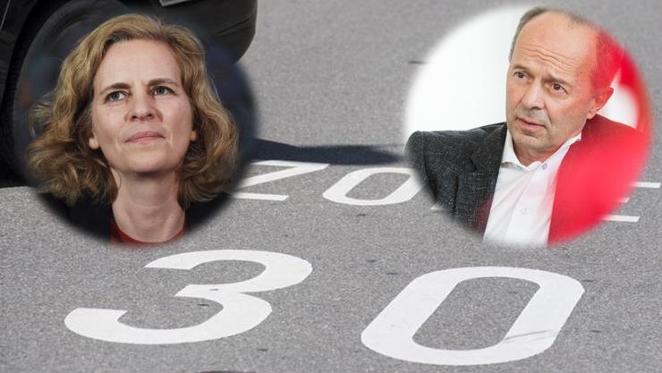 Zone 30 auch in den von Bussen befahrenen Strassen in Wollishofen: Unter der neuen Sicherheitsvorsteherin Karin Rykart (Grüne) wurde dies möglich. Ihr Vorgänger Richard Wolff (AL) wehrte sich damals noch gegen eine Ausdehnung der Temporeduktion.