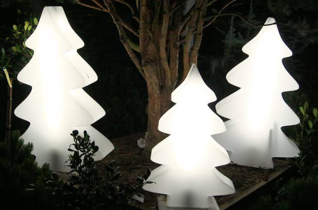 Beim Gartencenter Hoffmann in Unterengstringen leuchten diese Bäume.