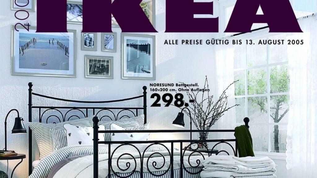 Der Ikea-Katalog wird eingestampft - Bild von 2005.
