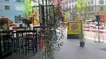 Das Bistro Chez Brigitte von Pascal Schmutz an der Europaallee.