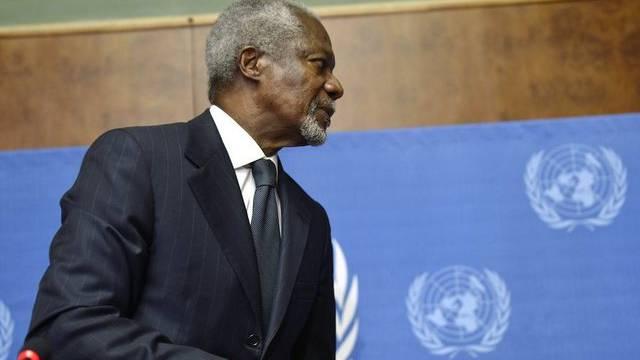 Kofi Annan hat seinen Rücktritt als Syrien-Sondergesandter angekündigt (Archiv)