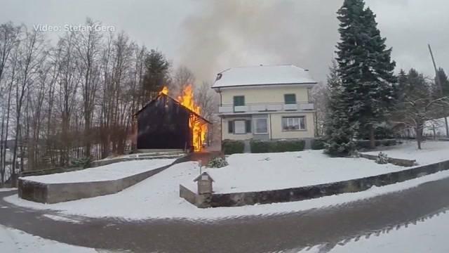 Brände in Pfeffikon und Fehren