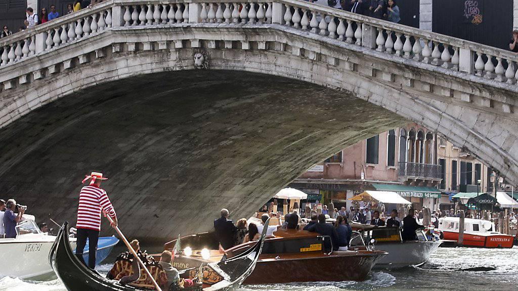 Die Rialto-Brücke in Venedig war offenbar ein geplantes Anschlagsziel. (Archiv)