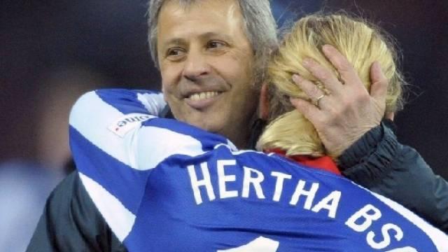 Hertha-Coach Favre dank Torschütze Woronin weiter Bundesliga-Leader