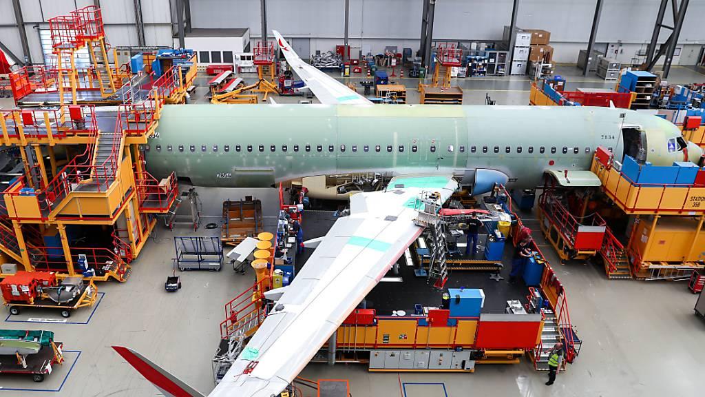 Airbus schreibt Milliardenverlust (Archivbild)