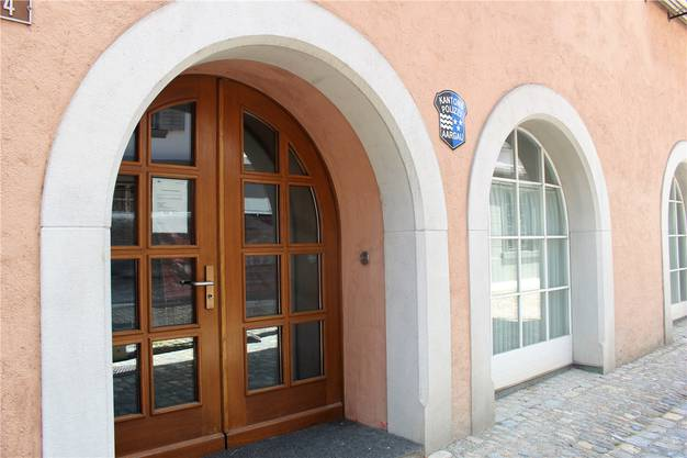 Wird geschlossen: Kapo-Posten in Bremgarten. Timea Hunkeler