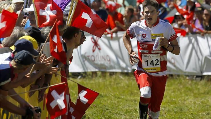 Die WM war gestern – jetzt peilt Fabian Hertner eine Medaille auf der nationalen Bühne an.