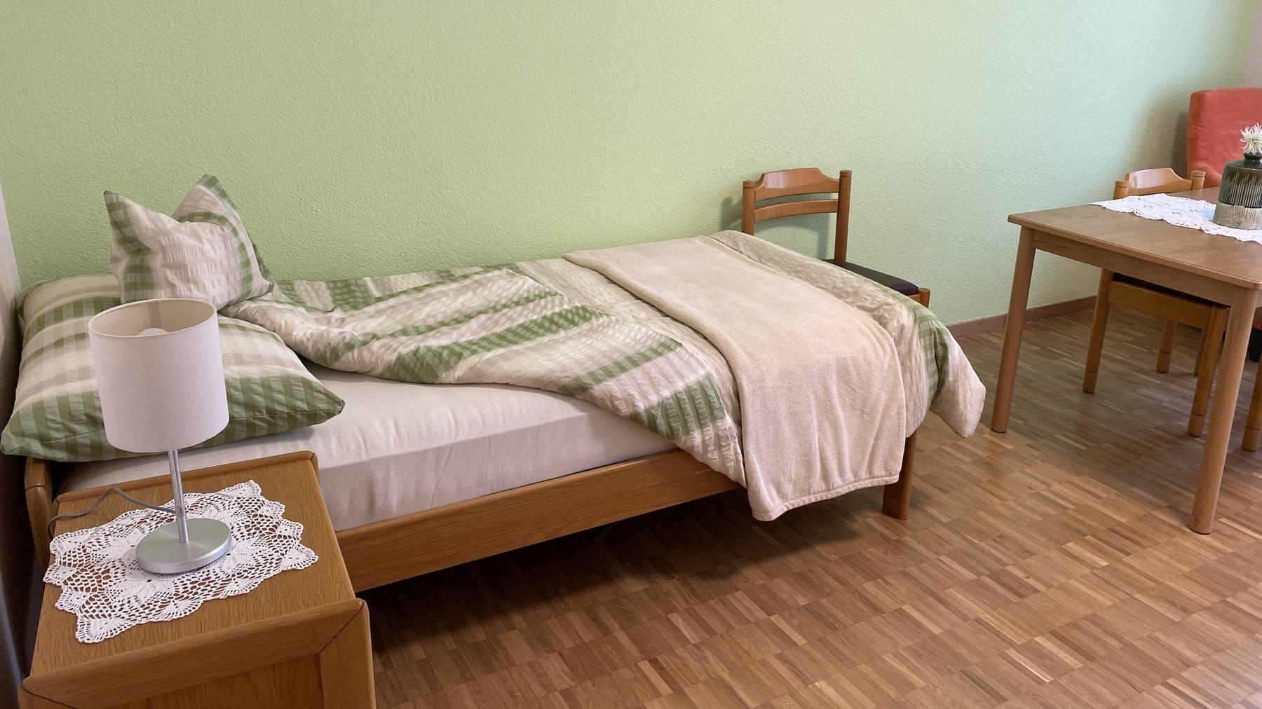 Die Zimmer werden etwa so aussehen.