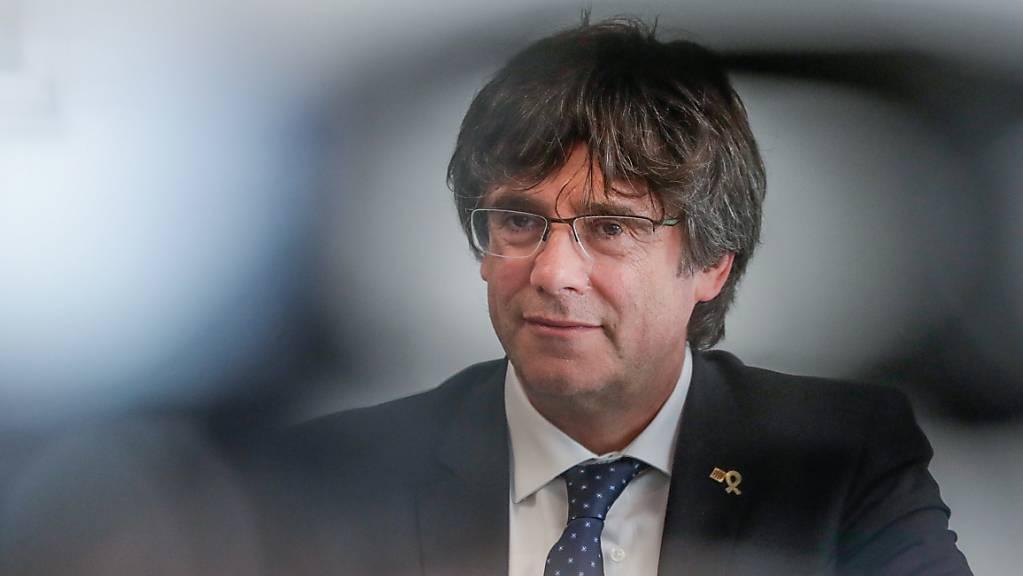 Im Rechtsstreit um seinen Sitz im EU-Parlament hat der katalanische Separatisten-Führer Puigdemont Berufung gegen ein Urteil des EU-Gerichts eingelegt.