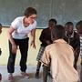 Lea Eichenberger in Lusaka