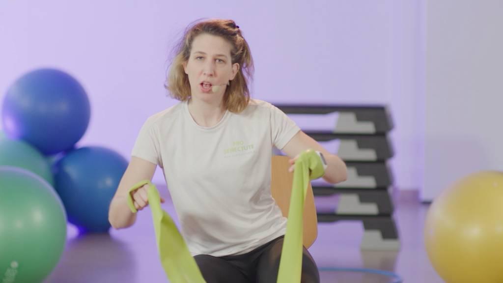 «Gymnastik im Wohnzimmer» vom 23. April 2021