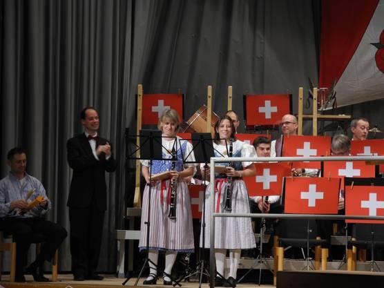 Auftritt mit Klarinetten