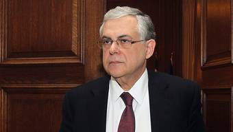 Der griechische Ministerpräsident Lucas Papademos (Archiv)