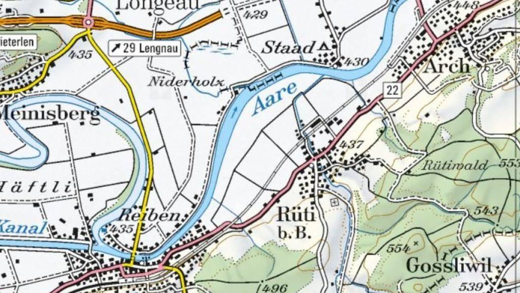 In Rüti bei Büren im Berner Seeland kam es zum mutmasslichen Beziehungsdelikt.
