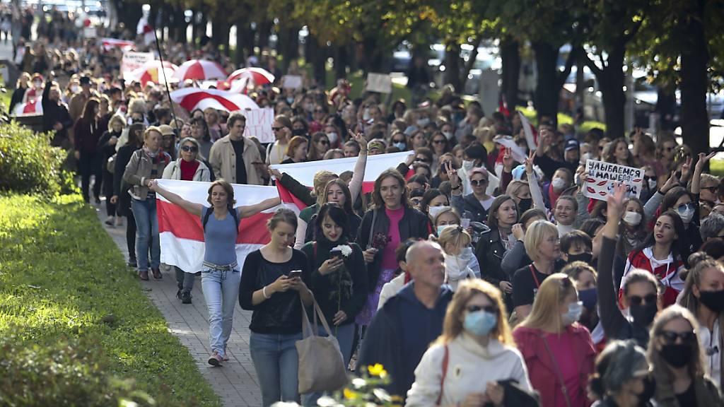 Belarus rüstet sich für grosse Demo gegen Lukaschenko