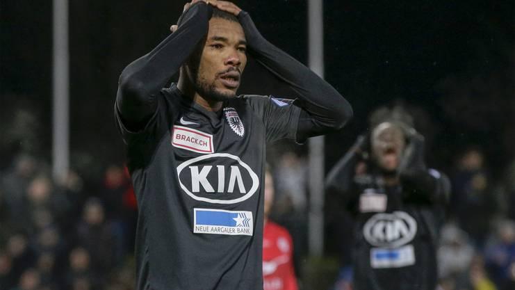 Der FC Aarau wartet seit 84 Tagen auf einen Sieg im Brügglifeld.