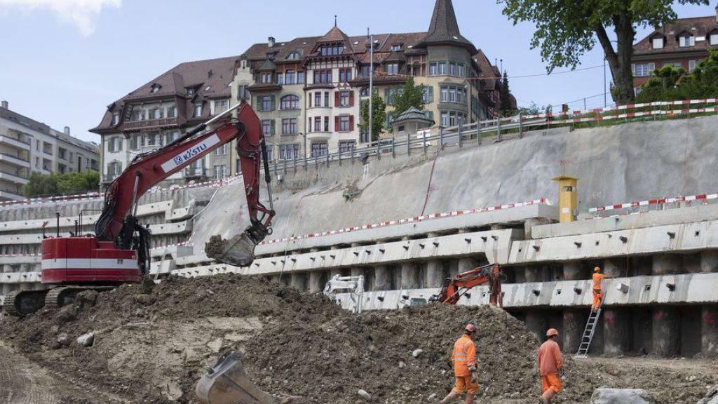 Ausbau des Hauptbahnhofs Bern dauert länger als geplant