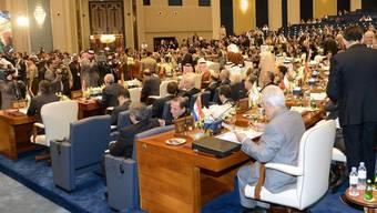 Teilnehmer der Geberkonferenz in Kuwait