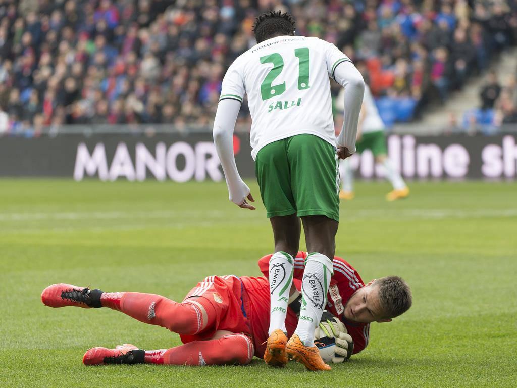 Die Bilder: Knüller Basel gegen FCSG