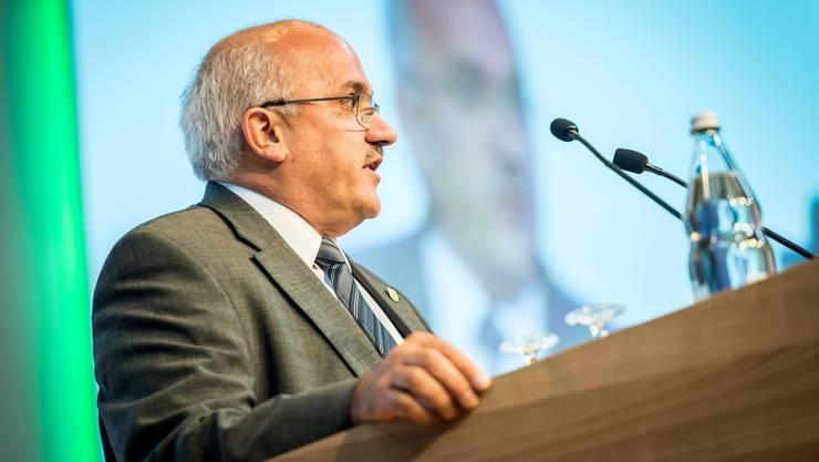Muss er am 20. Oktober einen Sitzverlust erklären? Ruedi Zbinden, Präsident der SVP Thurgau.
