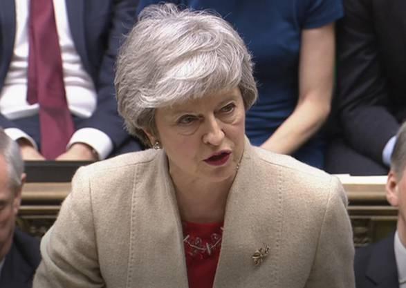 Theresa May will weiter kämpfen.