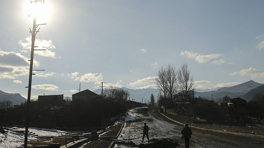 Russland: Keine weiteren Verstösse gegen Waffenruhe in Berg-Karabach