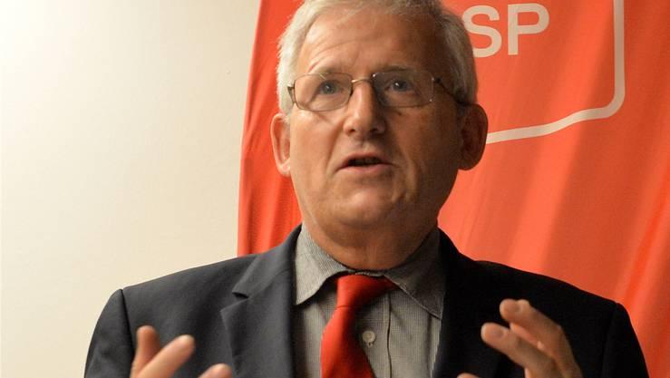 Ständerat Hans Stöckli sprach im Kreuz.