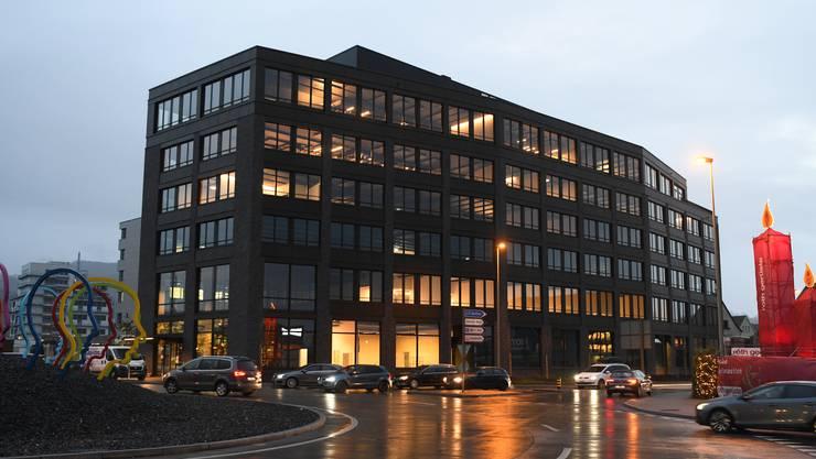 Das neue Haus der Wirtschaft in Pratteln.