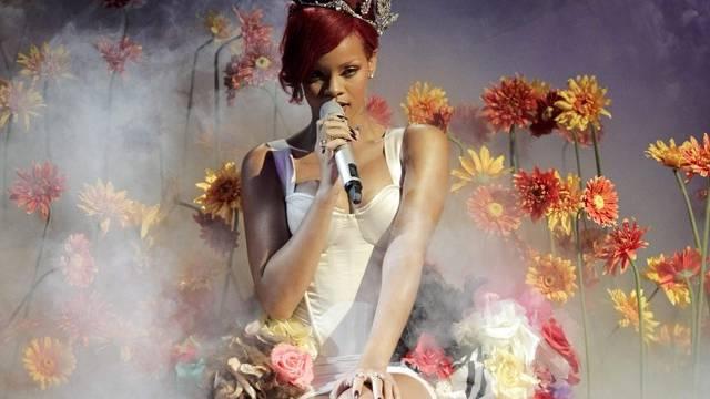 Rihanna bei den MTV Europe Music Awards in Madrid