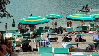 Badeidylle auf fast 1000 MüM am Lago di Barrea