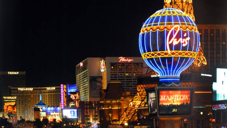 Las Vegas soll eine Option für die Forsetzung der NBA-Saison sein