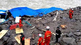 Erdrutsch in südostchinesischer Provinz Fujian