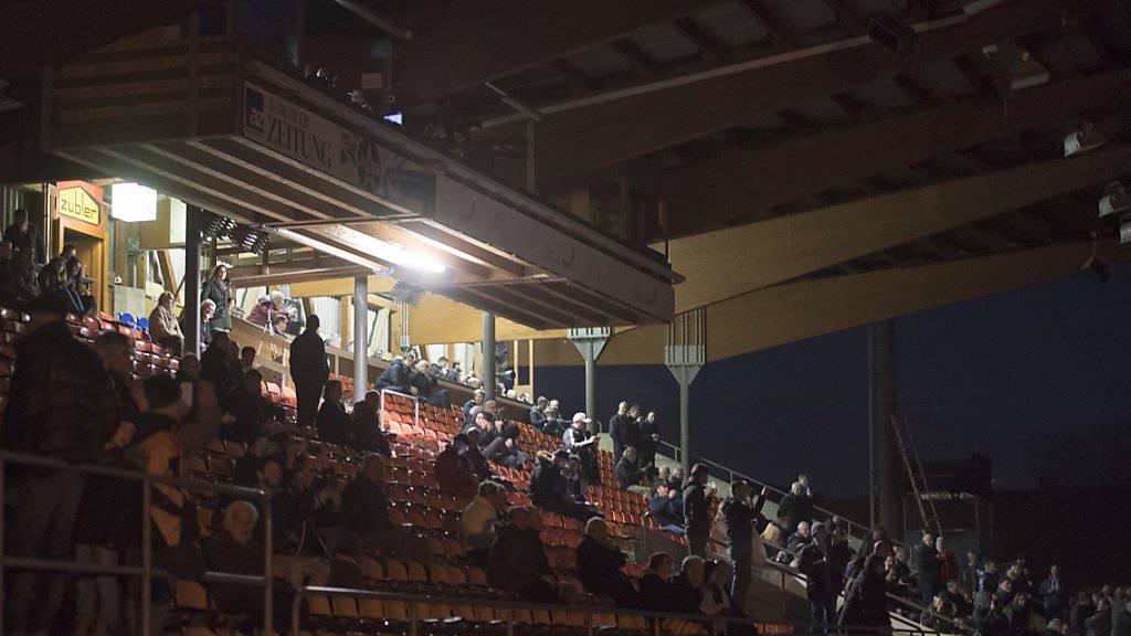 Das abgebrochene Meisterschaftsspiel Aarau gegen FCZ wird nun am 4. Mai nachgeholt