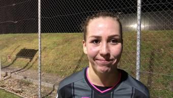 Delia Lahmici von den FC Aarau Frauen über den ersten Punktgewinn der Saison