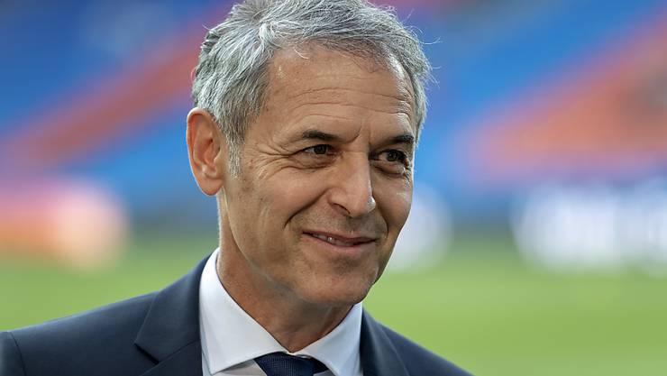 Trainer Marcel Koller ist seit seiner Amtsübernahme beim FC Basel mit seinem Team noch unbesiegt