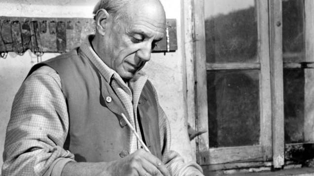 Pablo Picasso im Jahr 1948: Das Kunstmuseum Basel zeigt eine grosse Picasso-Retrospektive (Archiv)
