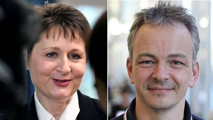 Franziska Roth nach ihrer Wahl im 2016. Daniel Kübler glaubt daran, dass die SVP den Sitz wieder gewinnen kann.