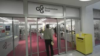 GGG Stadtbibliothek Basel - Eröffnung der Bibliothek Kirschgarten