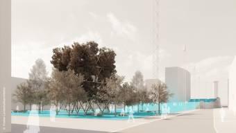 Das Gewinnerprojekt des Architekturbüros Koeber sieht viel Grün vor.