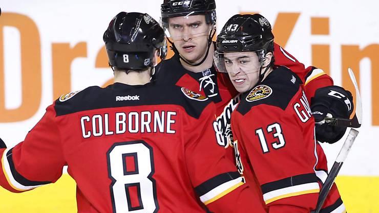 Die Calgary Flames sind zu Hause derzeit nicht zu stoppen
