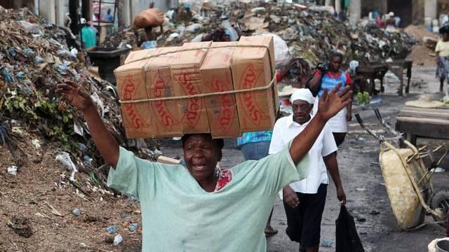 Schwieriger Alltag in Haiti (Archiv)