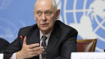 Mike Smith, Verantwortlicher des Berichts über die Menschenrechtslage in Eritrea..JPG