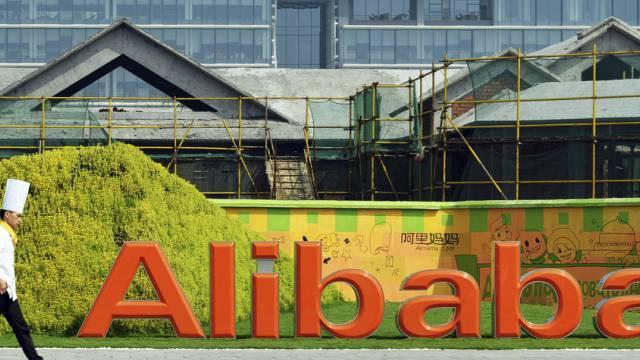 Alibabas Hauptquartier im Osten Chinas (Archiv)