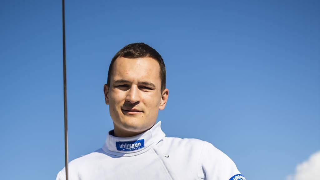 Das Schweizer Team in Kasan wird komplettiert durch Lucas Malcotti
