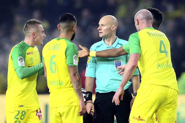 Nantes-Spieler verstehen die Welt nicht mehr.