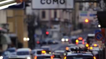 Der Grenzübergang zwischen Chiasso und Como (Symbolbild)