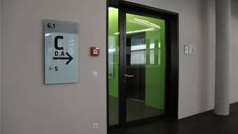 So sind die Sektoren im Gebäude 6 neu gekennzeichnet. Bild: cm