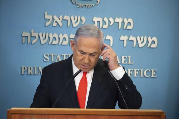 Reist am Montag nach Washington, um Friedensverträge mit den arabischen Nachbarn zu unterzeichnen: Israels Regierungschef Benjamin Netanjahu.