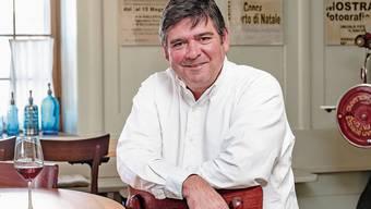Martin Jenni im einstigen Gasthof Engel.