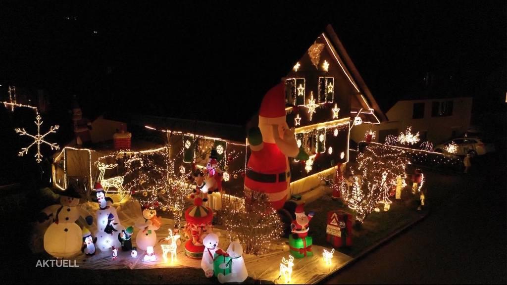 Zauberhaftes Weihnachtshaus in Rupperswil